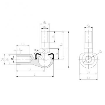 Plain Bearings SQYL9-RS LS