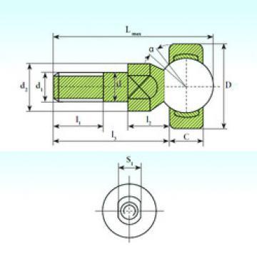 Plain Bearings SQD 6 C ISB