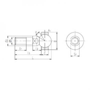 Plain Bearings SQDL16 LS