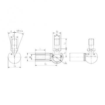 Plain Bearings SQG14/B5 LS