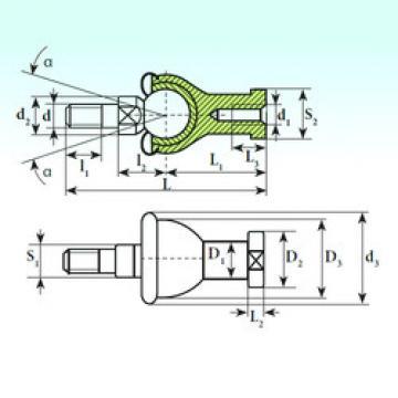 Plain Bearings SQZ 14 C RS-1 ISB