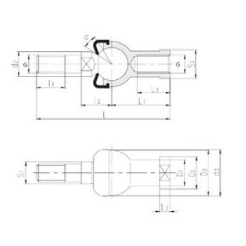 Plain Bearings SQZL14-RS LS