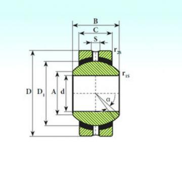 Plain Bearings SSR 10 ISB