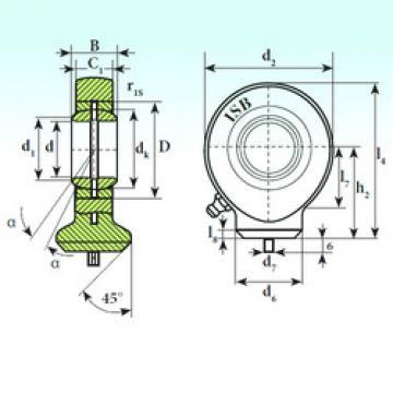 Plain Bearings T.A.C. 215 ISB