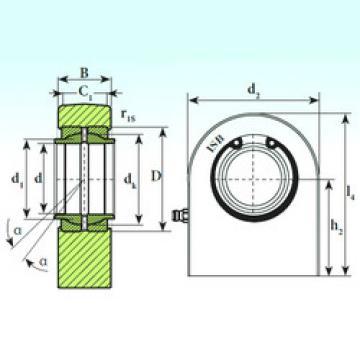 Plain Bearings T.P.N. 740 CE ISB