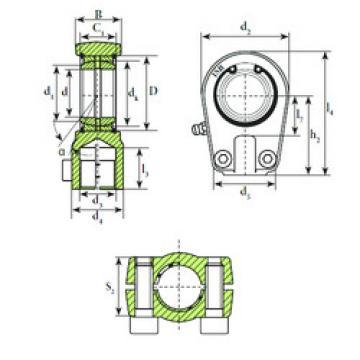 Plain Bearings TAPR 595 U ISB
