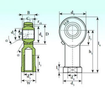 Plain Bearings TSF 8 ISB