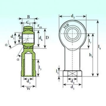 Plain Bearings TSF 8 C ISB