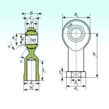 Plain Bearings TSF.R 6 ISB