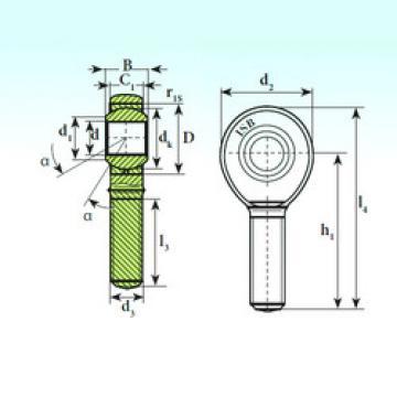 Plain Bearings TSM 16.1 C ISB