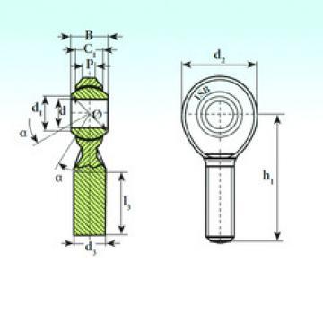 Plain Bearings TSM.R 14 ISB