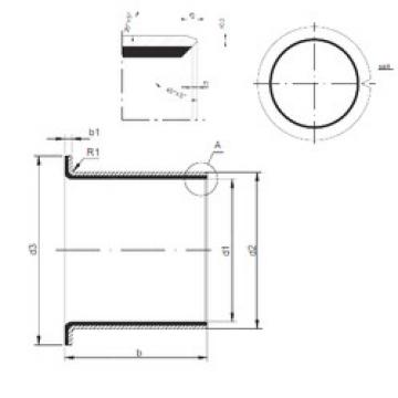 Plain Bearings TUF1 15.090 CX