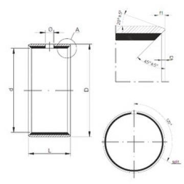 Plain Bearings TUP1 40.50 CX