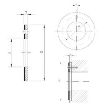 Plain Bearings TUW1 12 CX