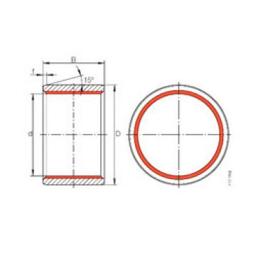 Plain Bearings ZGB 140X155X150 INA
