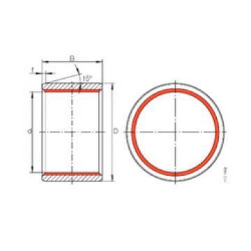 Plain Bearings ZGB 45X53X40 INA