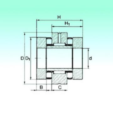 Bearing ZARN 50110 TN NBS