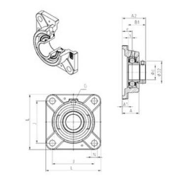 Bearing ESFE201 SNR