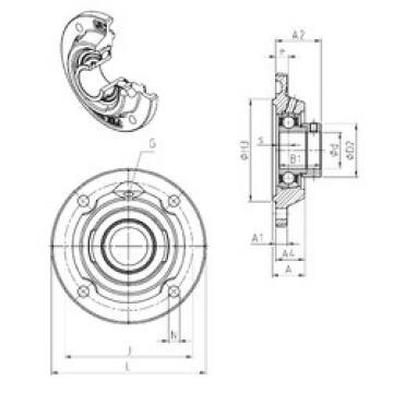 Bearing ESFEE210 SNR