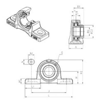 Bearing ESP205 SNR