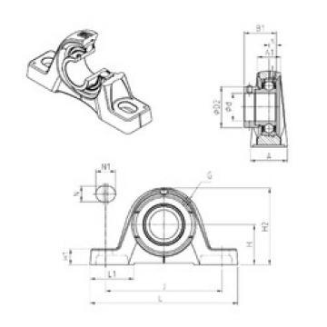 Bearing ESPE206 SNR