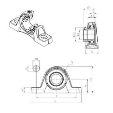 Bearing ESPLE208 SNR