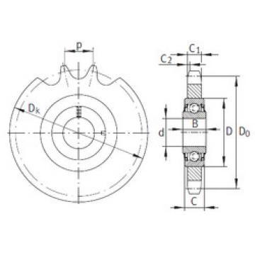 Bearing KSR20-L0-16-10-12-15 INA
