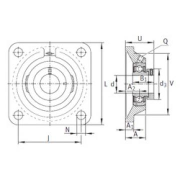 Bearing PCJ40-N-FA125 INA