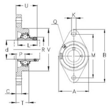 Bearing RCJT55 NKE