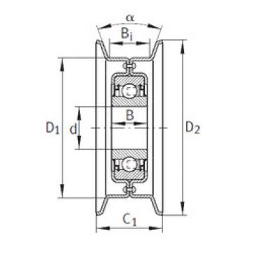 Bearing RSRB16-117-L0 INA