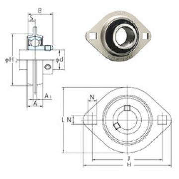 Bearing SBPFL205-16 FYH