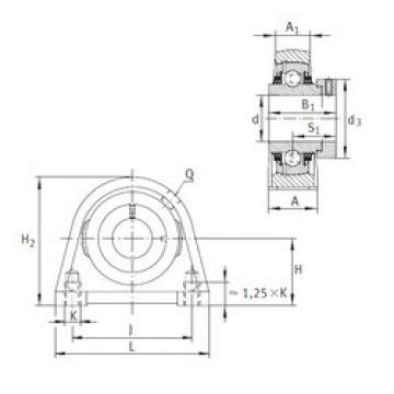 Bearing TSHE50-N INA