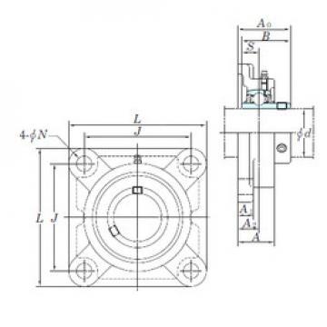 Bearing UCFX06-20E KOYO