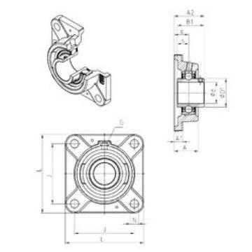 Bearing UCFE212 SNR