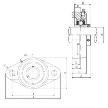 Bearing UCFL204 CX