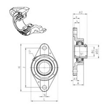 Bearing UCFLE211 SNR