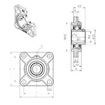 Bearing UCFS324 SNR