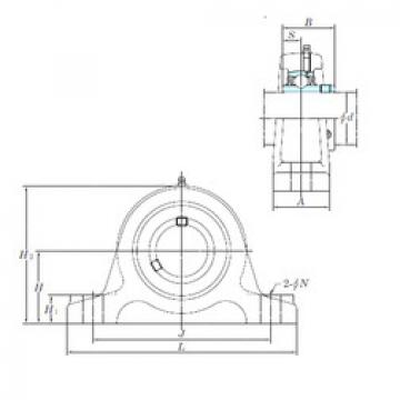 Bearing UCIP213-40 KOYO