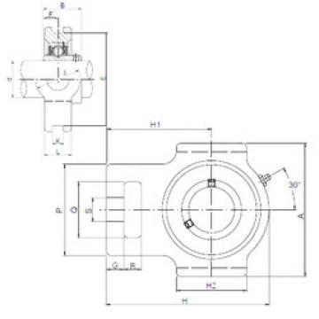 Bearing UCTX08 ISO