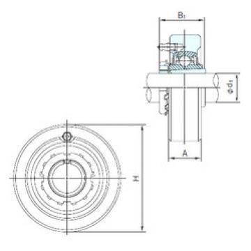 Bearing UKCX05+H2305 NACHI