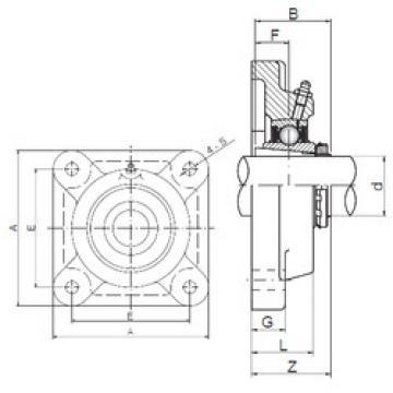 Bearing UKF212 ISO