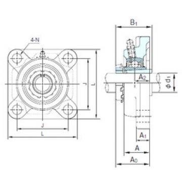 Bearing UKF215+H2315 NACHI