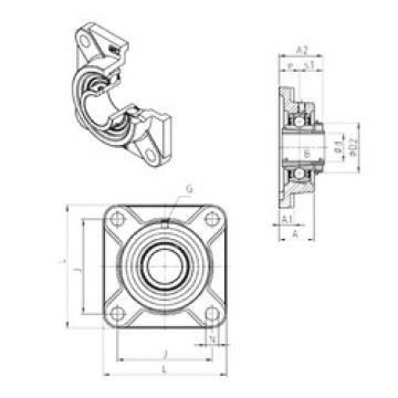 Bearing UKF216H SNR