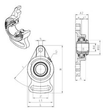 Bearing UKFA211H SNR