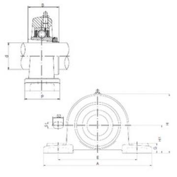 Bearing UKP216 ISO
