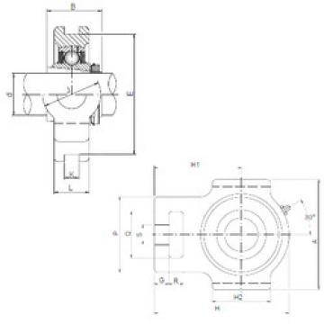 Bearing UKT213 ISO