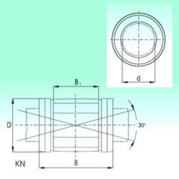 Bearing KN1636-PP NBS