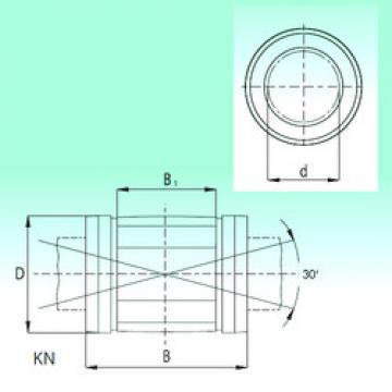 Bearing KN4080 NBS