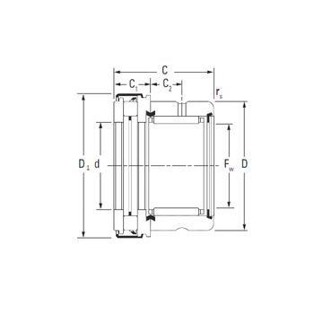RAXZ 530 Timken Complex Bearings