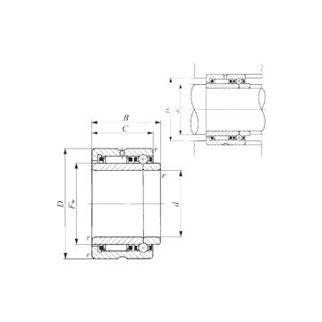 NATB 5912 IKO Complex Bearings